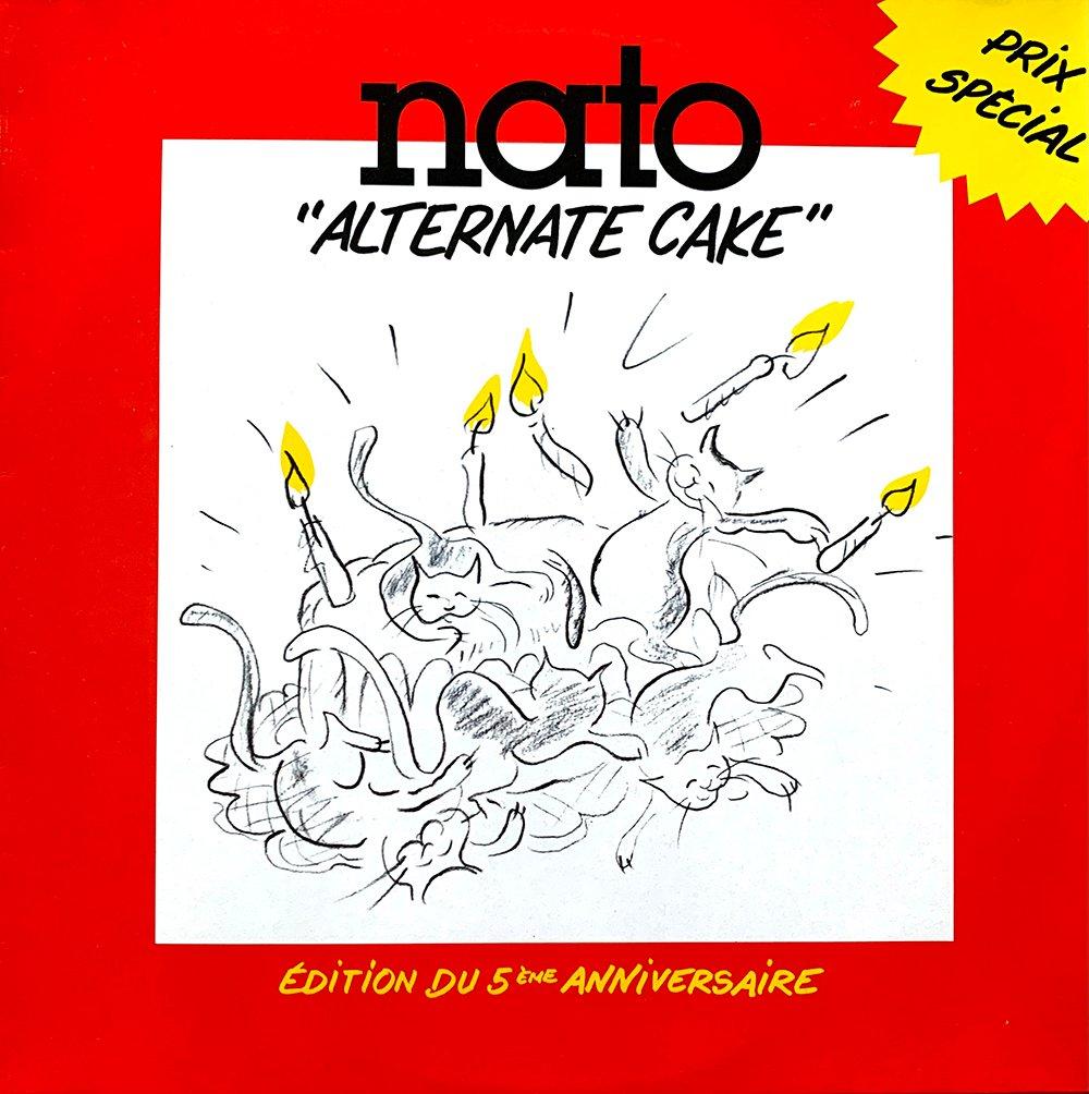 Various - Alternate Cake (Nato - 1986)