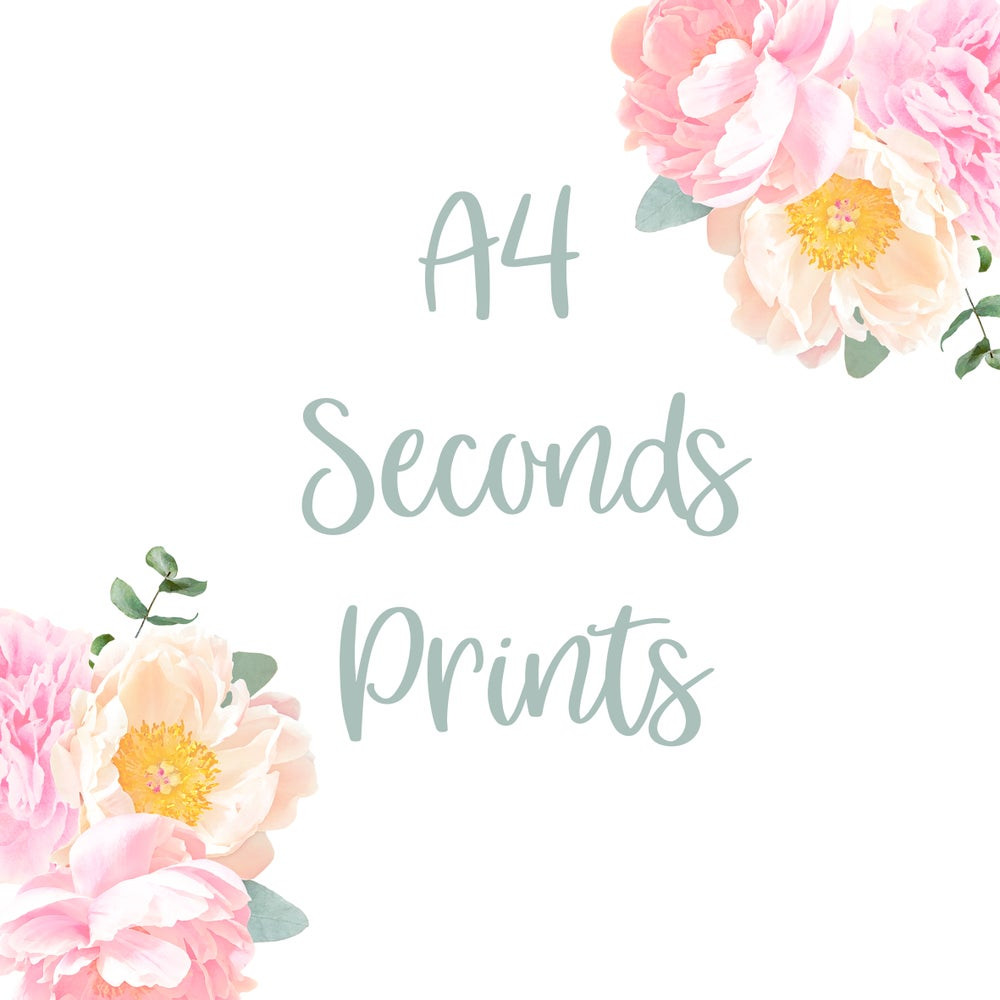 Image of A4 Seconds Prints