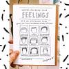 UNDERSTANDING YOUR FEELINGS - CARD