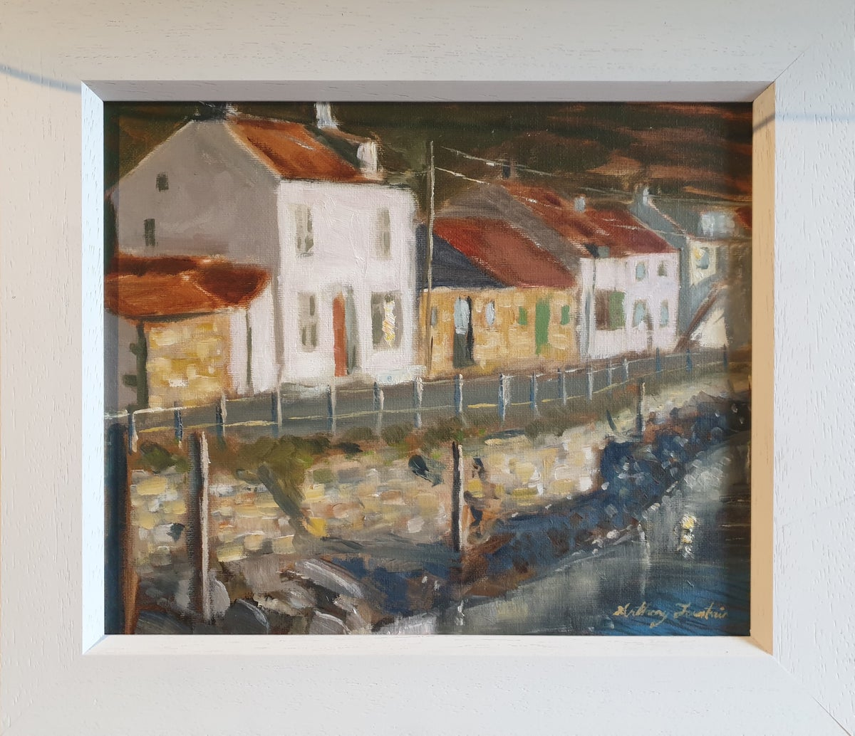 """Anthony Fountain """"Early Morning Light, Staithes"""""""