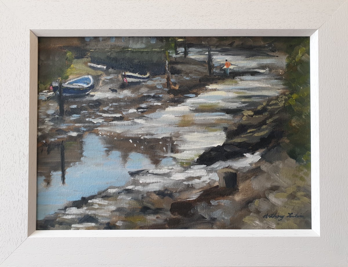 """Anthony Fountain """"Sparkling Light, Staithes Beck"""""""