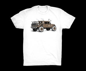Image of APPMTB TROPICAL LIFT T-SHIRT- WHITE