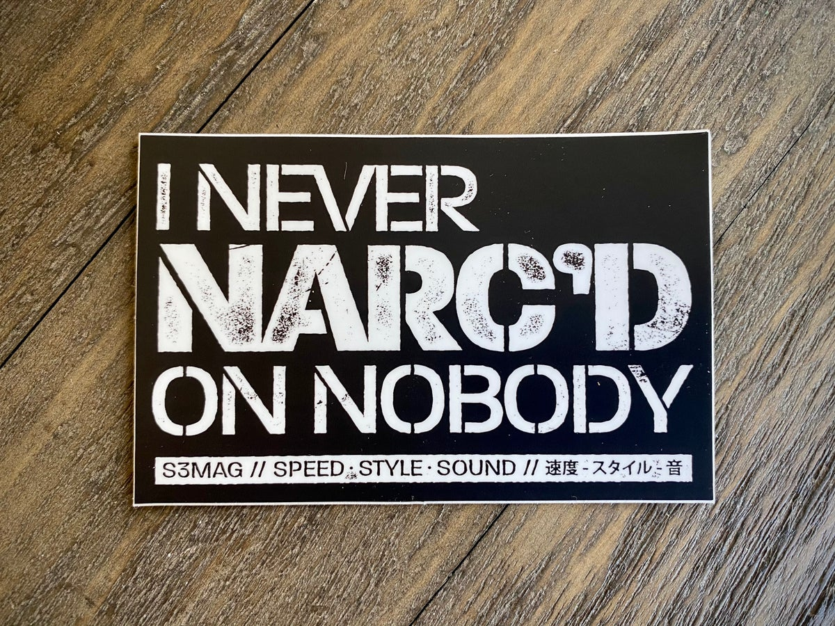 Image of Narc'd Decal