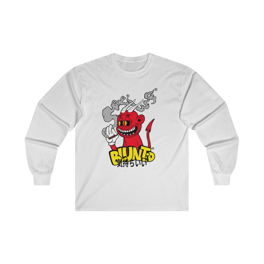 Image of BLUNTED DEVIL LONGSLEEVE T-SHIRT
