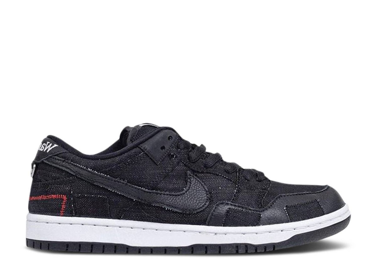 Image of WASTED YOUTH X DUNK LOW SB 'BLACK DENIM'