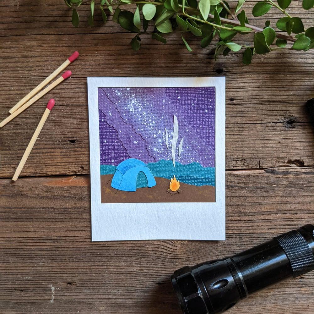 Image of Camping Polaroid