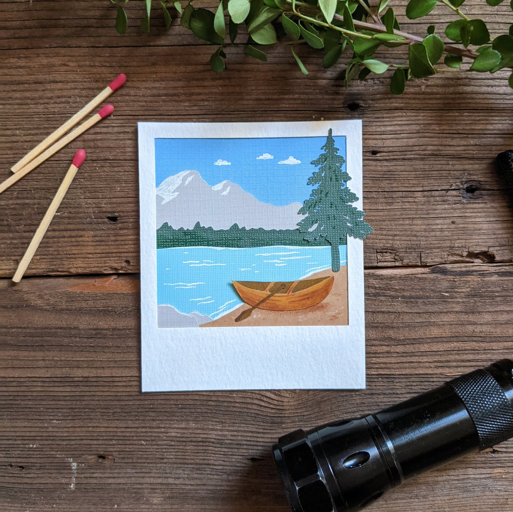 Image of Canoe Polaroid