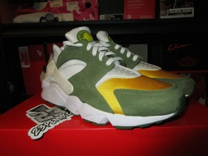 "Image of Air Huarache Run LE x Stussy ""Dark Olive"""
