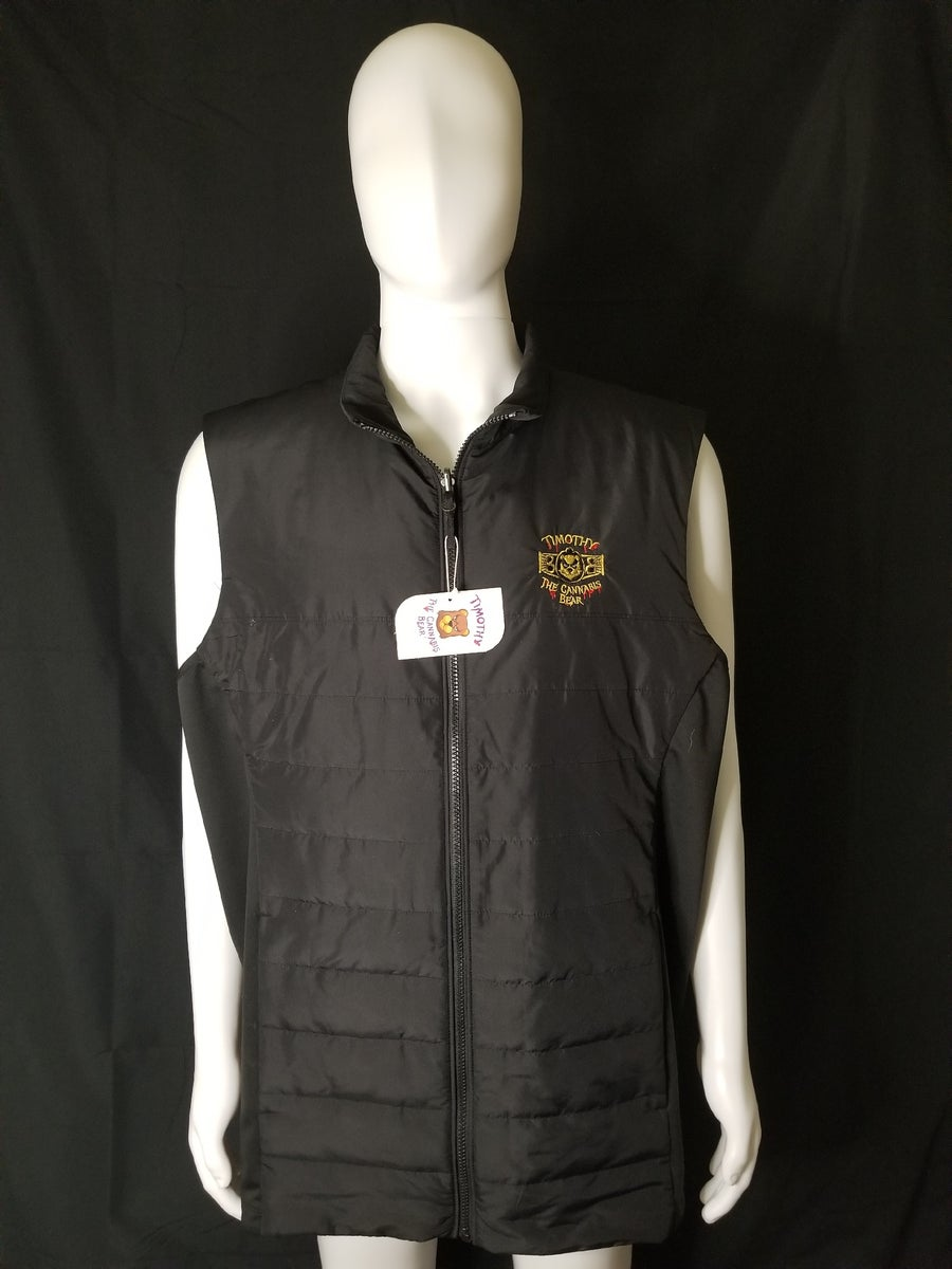Image of Timothy The Cannabis Bear lightweight thermal vest