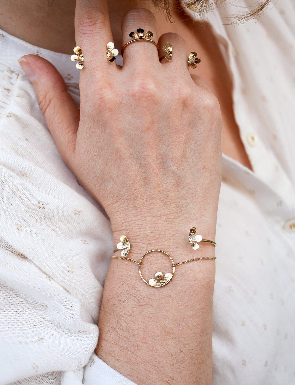 Image of Bracelet Jonc BLOOM