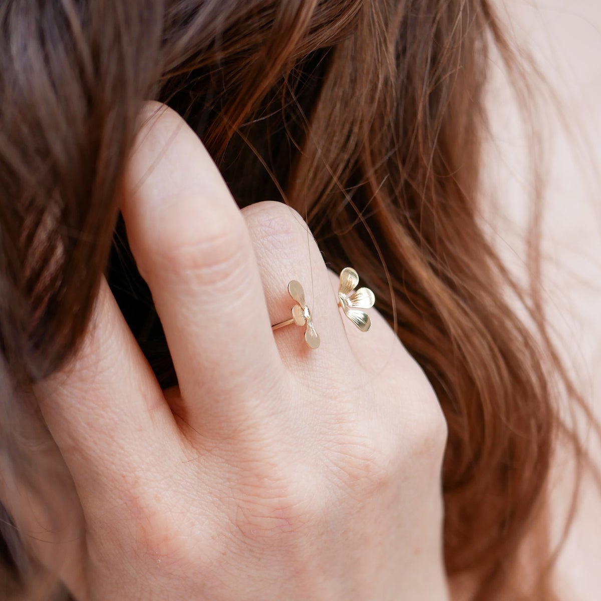 Image of Bague BLOOM Double