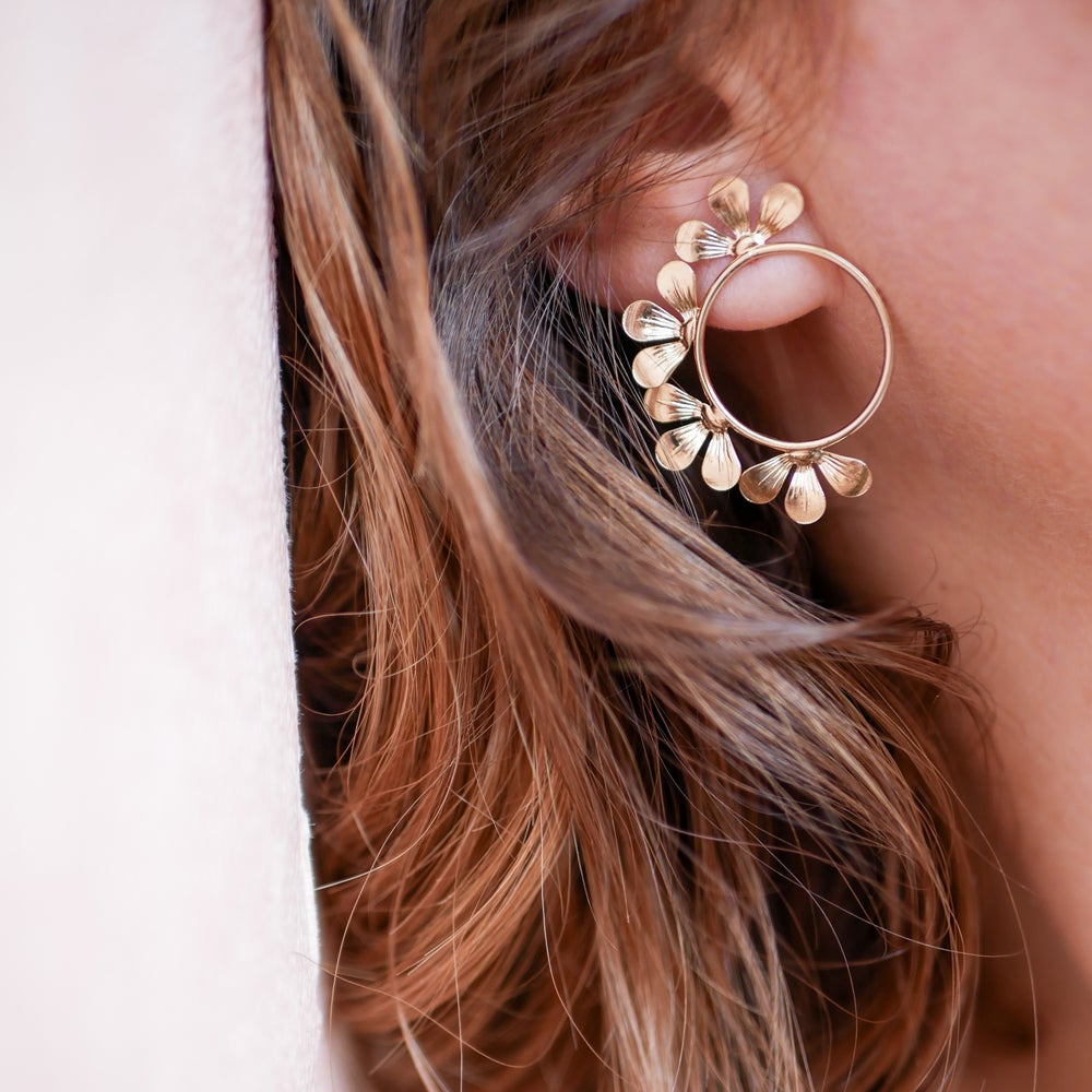 Image of Boucles d'Oreilles BLOOM