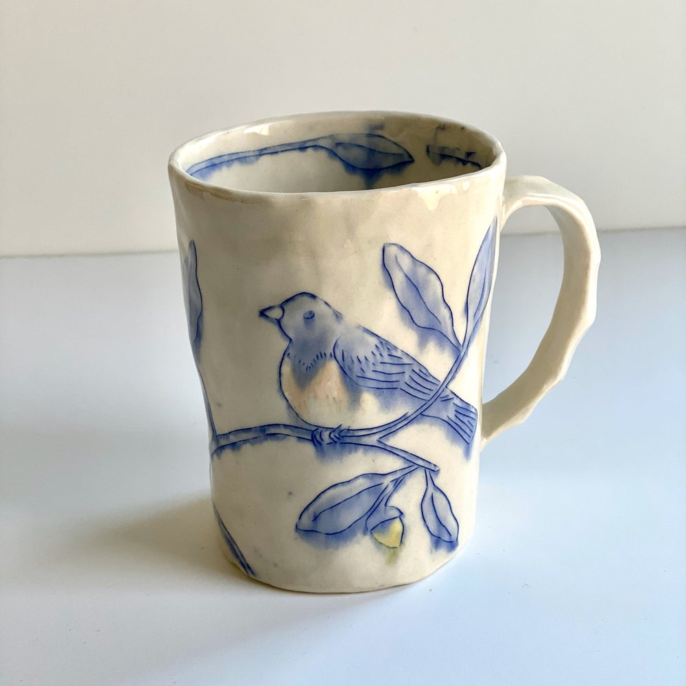 Image of Bluebird and Oak Mug
