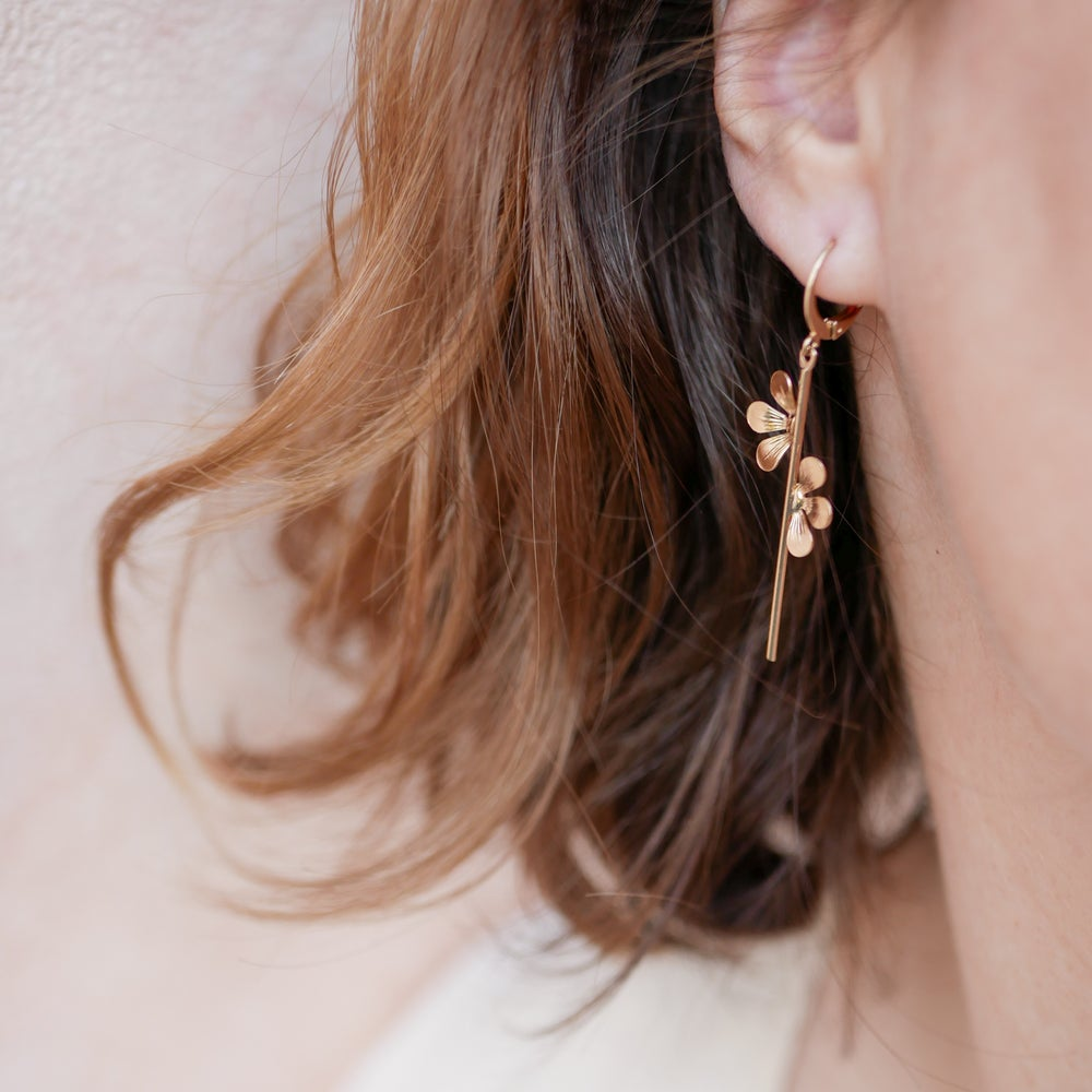 Image of Boucles d'Oreilles Tiges BLOOM