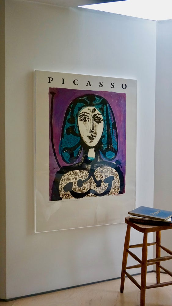 Image of (after) pablo picasso / woman with a hairnet / poster / 23/100