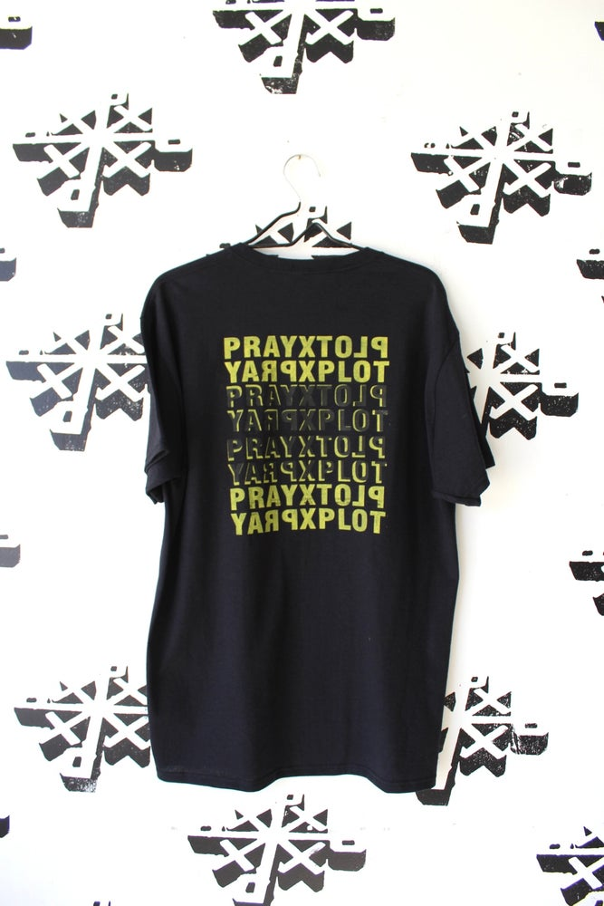 Image of stacked tee in black