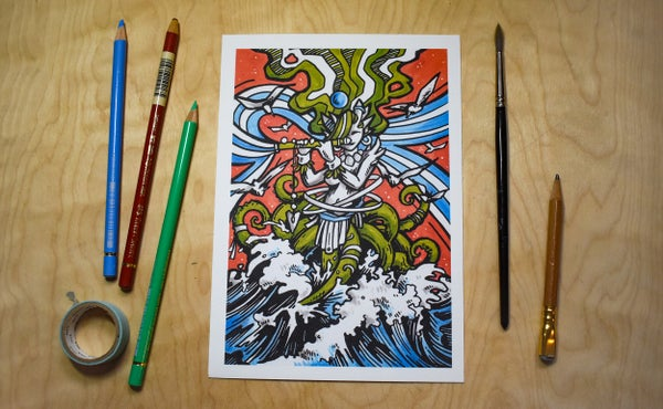 Image of Piper of Tides - Art Print