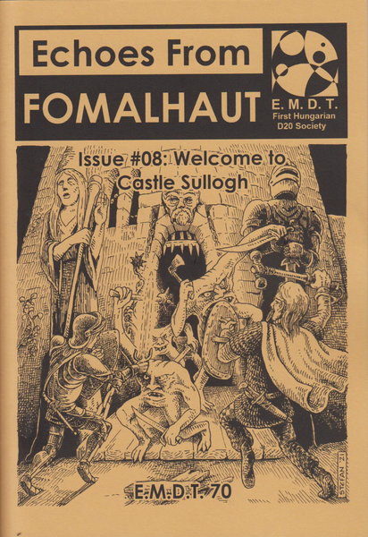 Image of Echoes From Fomalhaut #08: Welcome to Castle Sullogh