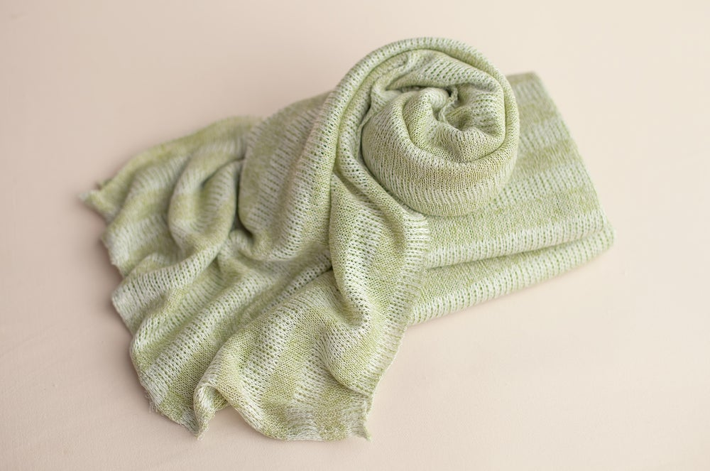 Image of Striped Sweater Wrap