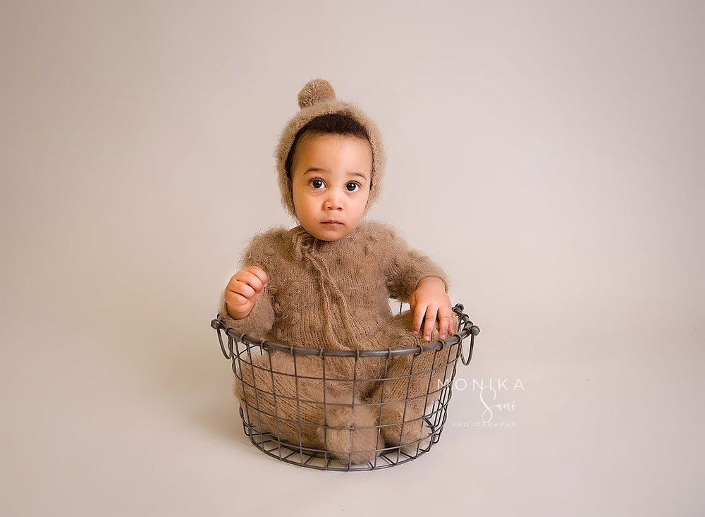 Image of Sitter bubble rompers 6-12 months. Ready to post