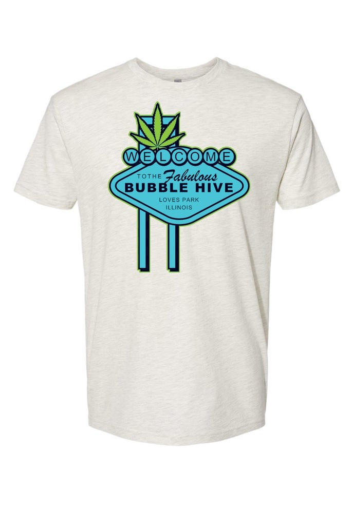Image of The Bubble Hive x Vegas Tee (Free Shipping)