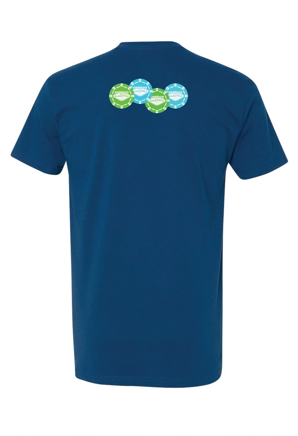 Image of The Bubble Hive x Vegas Tee (Blue) Free Shipping
