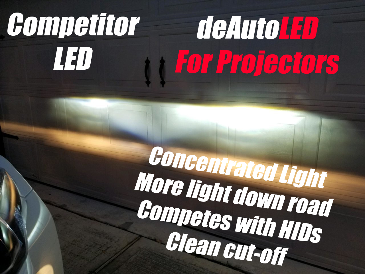 Image of Top Rated LEDs for Reflectors or Projector Housing [fog] cutter