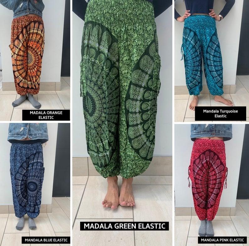 Image of Mandala High Crotch Harems