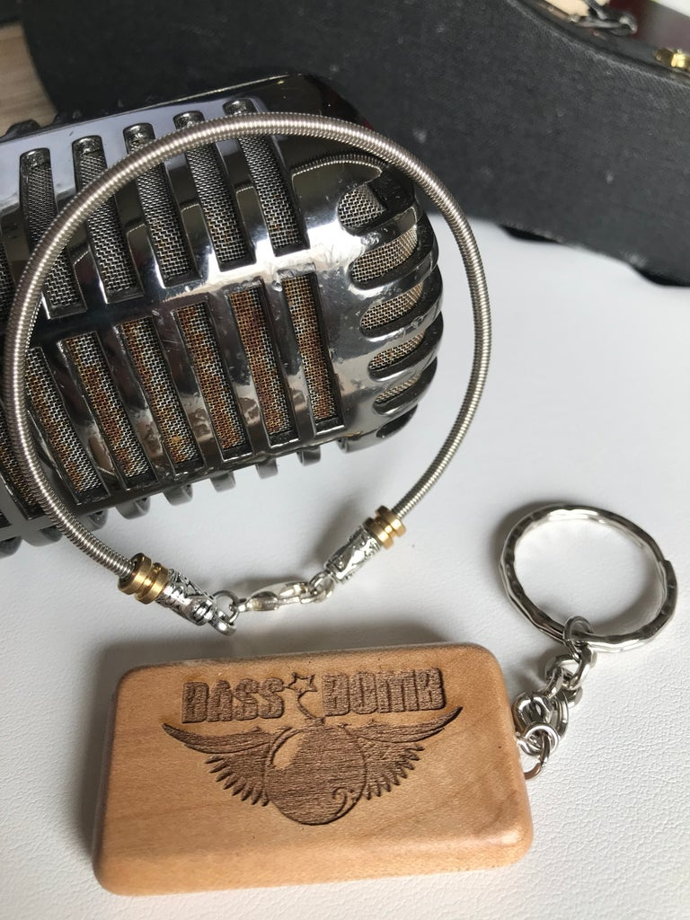 Image of Bass String Bracelet & Bass Bomb Keychain Combo