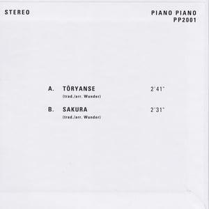 Sven Wunder - Tōryanse / Sakura (Piano Piano - 2020)