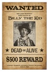 P0064 Wanted - Billy the Kid