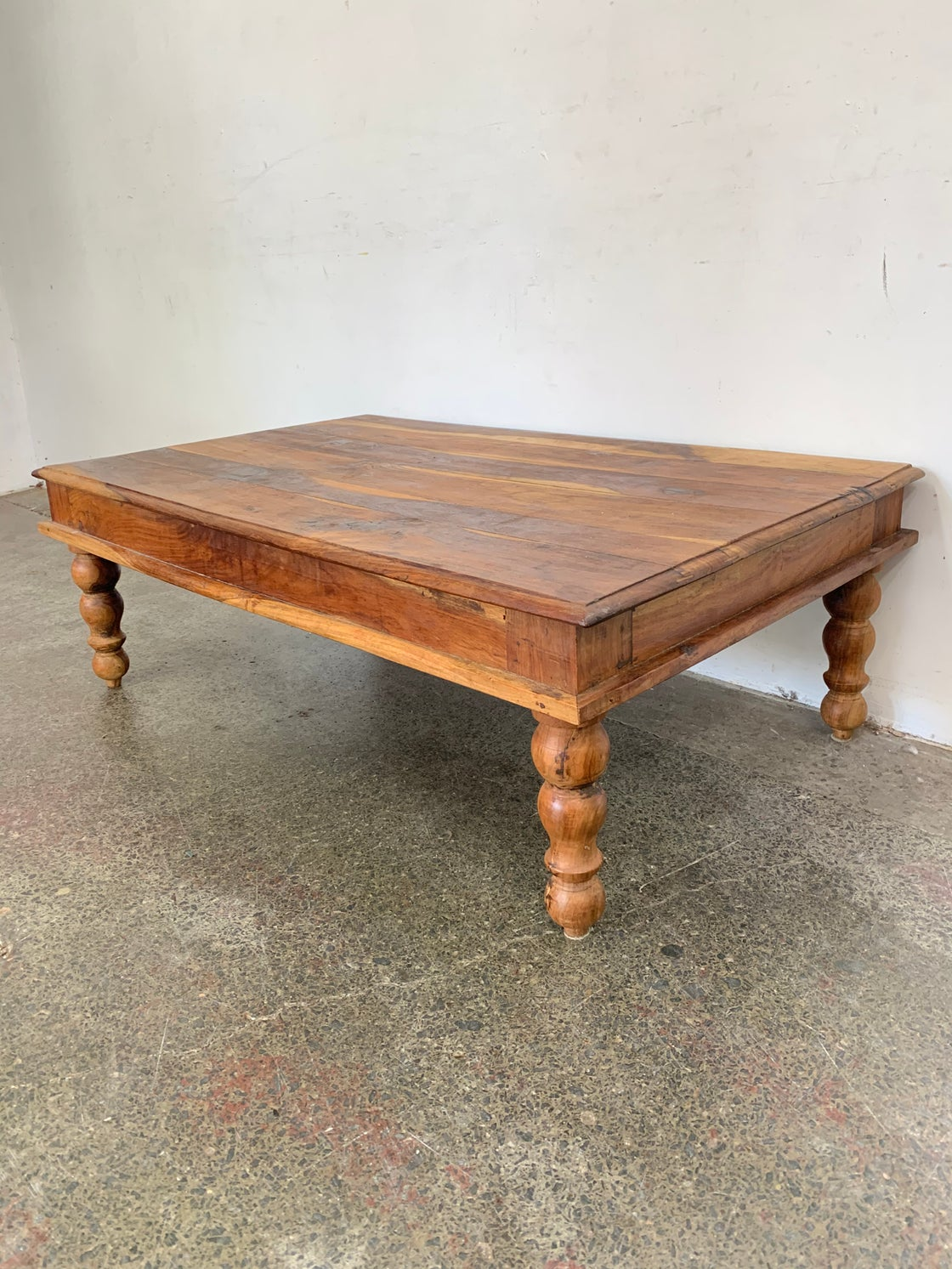 Image of SOLID PECAN COFFEE TABLE