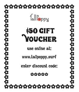Image of Gift Voucher - $50/ $100/ $120/ $150/ $200