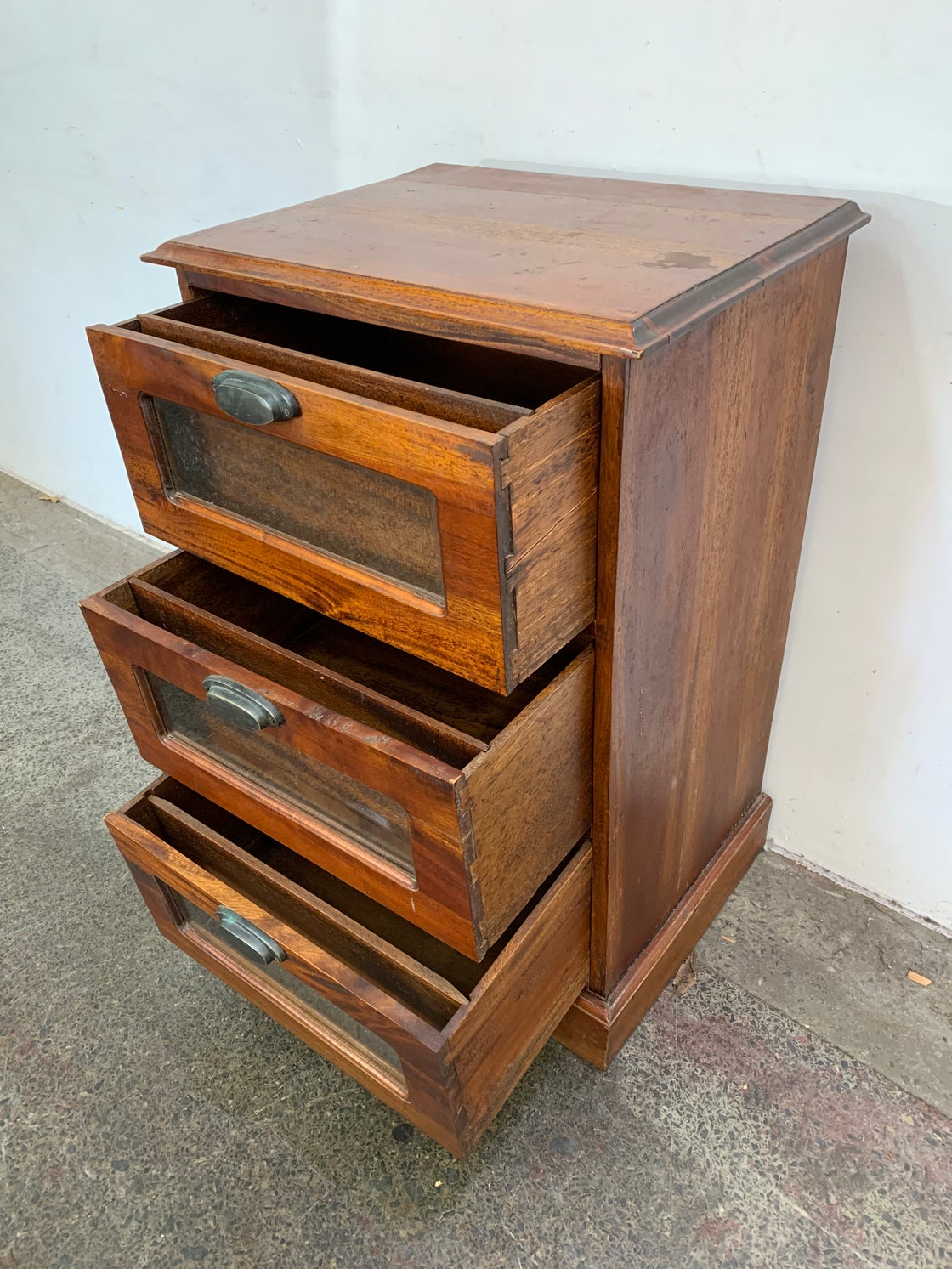 Image of TEAK CHEST OF DRAWERS