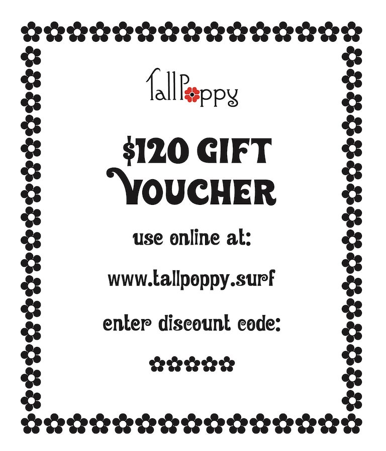 Image of Gift Voucher - $50/ $100/ $120/ $150
