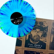"Image of ""Manchester"" LP - Electric Blue w/ Splatter"