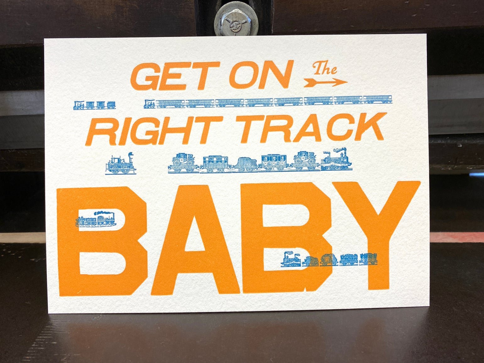 Image of Get on the Right Track Baby