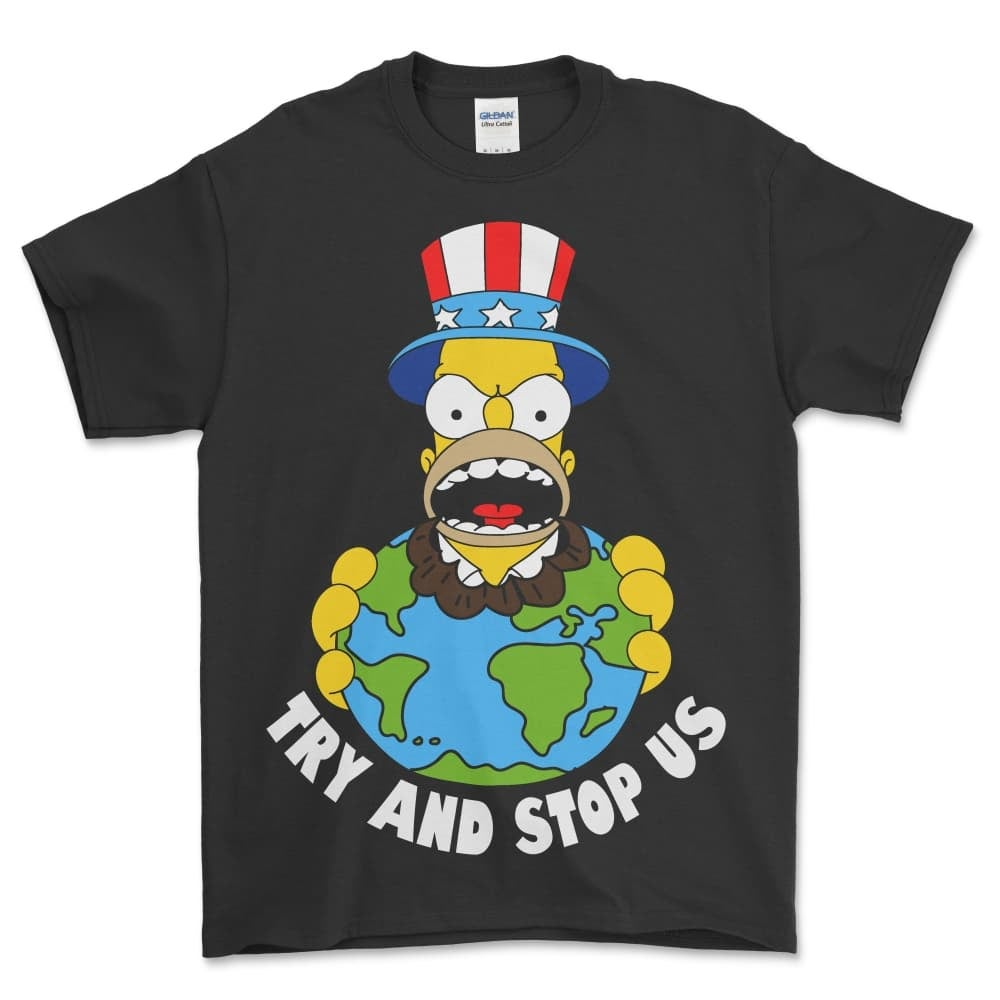 Image of TRY AND STOP US T SHIRT (PREORDER SHIPS MAY 7TH)