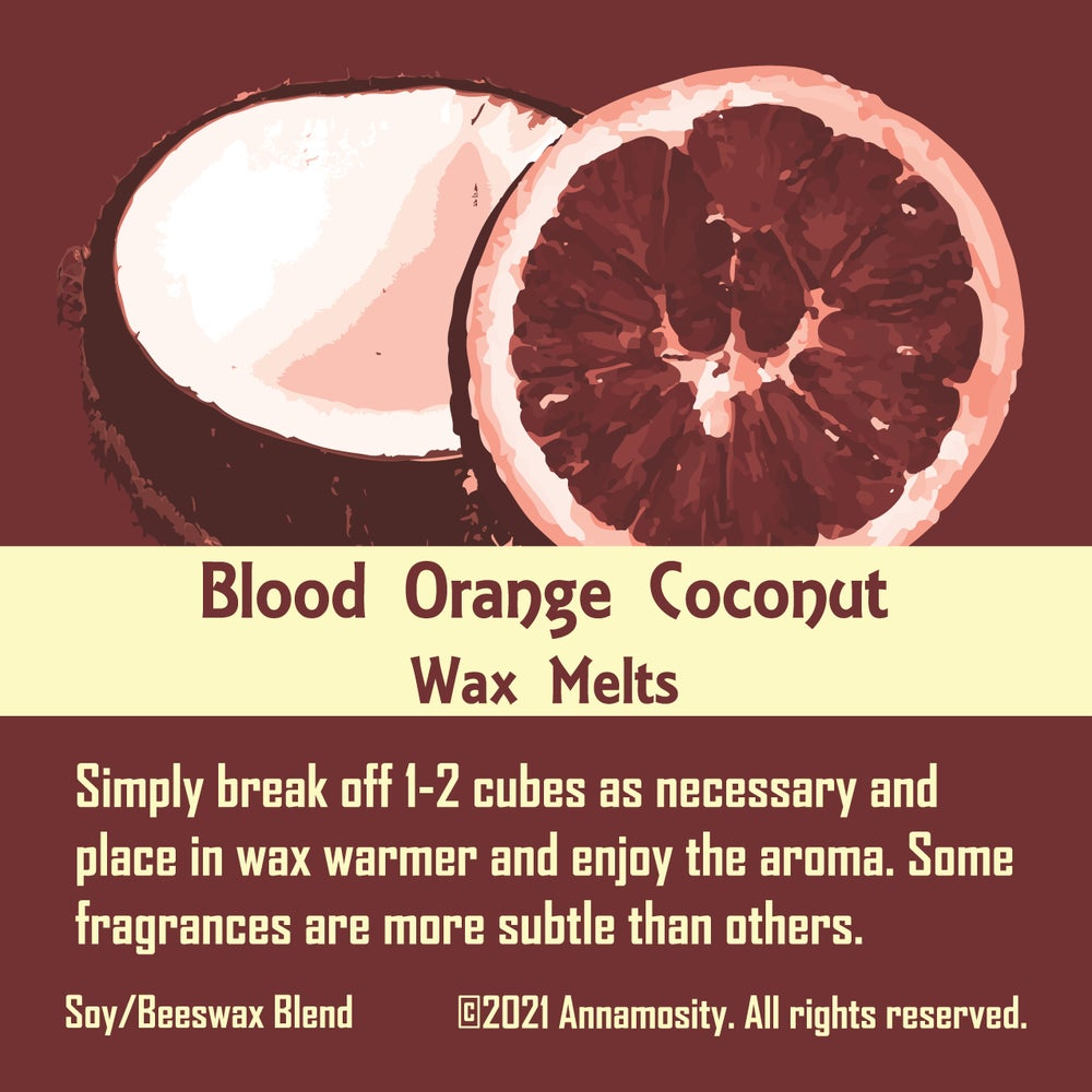 Image of Blood Orange & Coconut - Wax Melts
