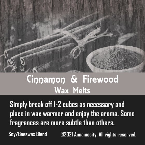 Image of Cinnamon & Firewood - Wax Melts
