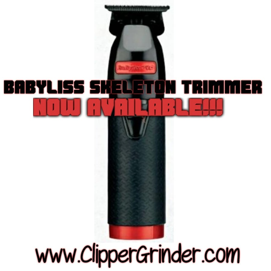 """Image of (3 Week Delivery) Limited Edition Red/Black Influencer Babyliss Trimmer W/""""Modified"""" Fx707b2 Blade"""