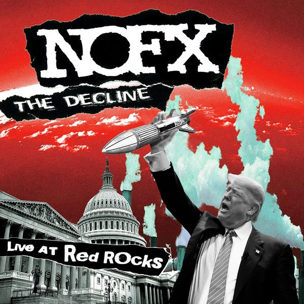 """Image of NOFX - The Decline Live at Red Rocks 12"""""""