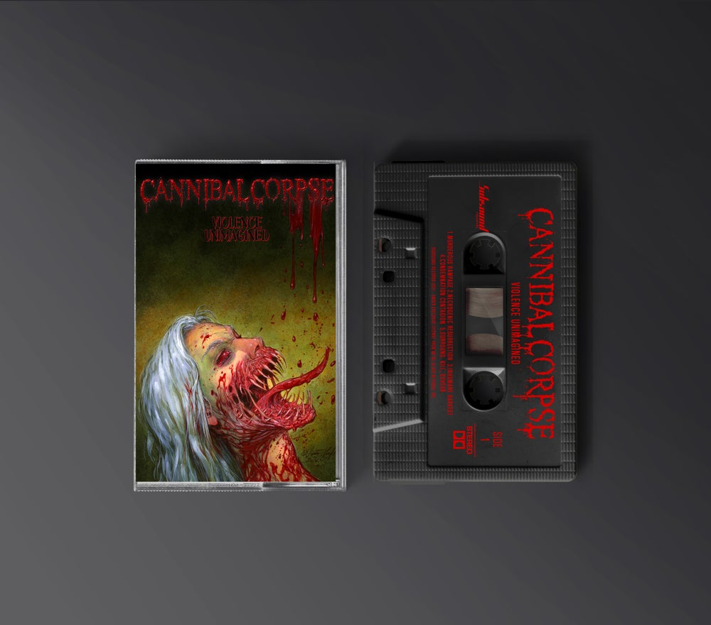 Cannibal Corpse - Violence Unimagined - Tape - Black