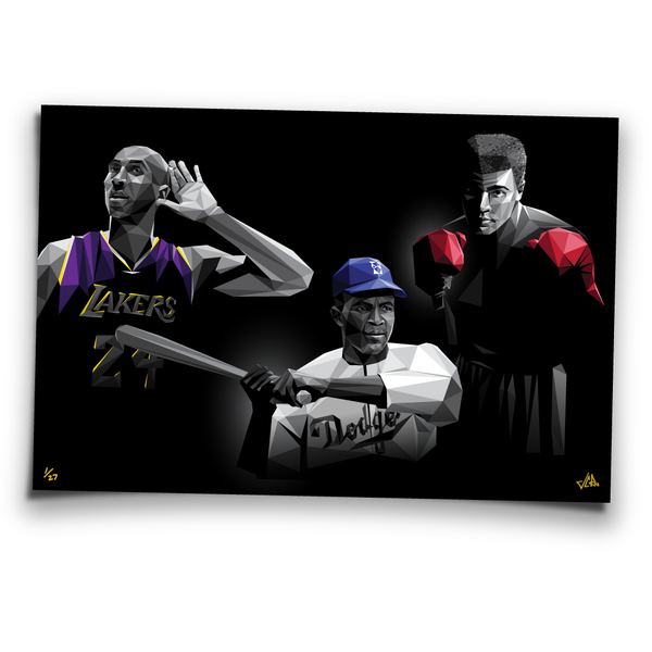 Image of HEROS - limited edition prints
