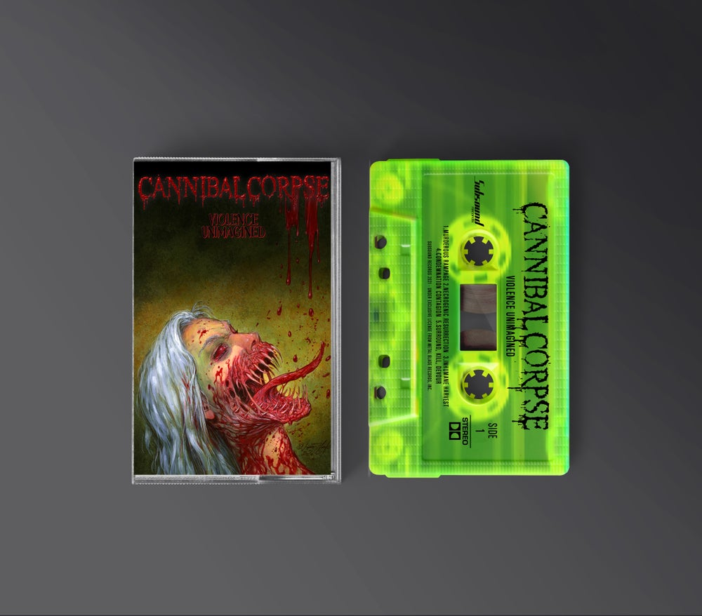 Cannibal Corpse - Violence Unimagined - Tape Toxic Green