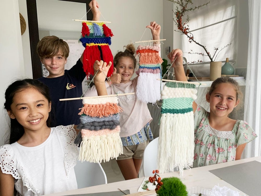 Image of Weaving for Young Crafters