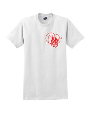 Image of Heavy Goods Hands On Heart Tshirt