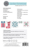 Quilty Christmas - Paper Pattern