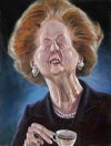 Margaret Thatcher – Mounted Canvas