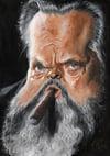 Orson Welles –Mounted Canvas